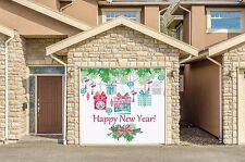 Garage Door Covers CHRISTMAS DECOR Full Color Murals Banner Single Garage GD76