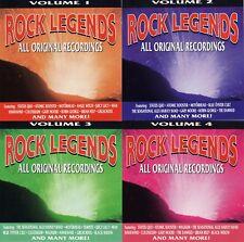 Various Artists: Rock Legends - 1992 [4 CD Box] RARE!