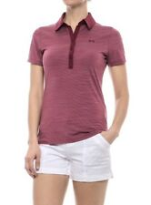 Under Armour Heat Gear Womens Zinger Polo / NWT / Currant / Medium