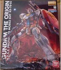 MG 1/100 Mobile Suit Gundam THE ORIGIN RX-78-02 Gundam Plastic Model Bandai F/S