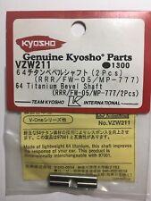 Kyosho Titanwellen für Differential Vone-RRR FW-05 MP-777 VZW-211 Neu