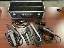 Shure PG58 Wireless Highball Calrad 10-19 Microphone Lot *10