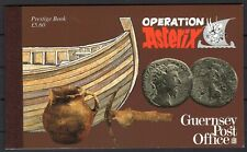 UK 1992 GUERNSEY POST OFFICE OPERATION ASTERIX RARE BOOKLET FR IT 15 STAMPS MNH