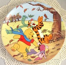 Pooh A Blustery Day Is Best With Friends 11th Issue Fun In 100 Acre Woods Plate