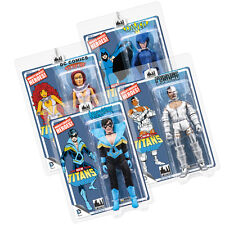 DC Comics Mego Style 8 Inch Figures New Teen Titans Series: Set of all 4