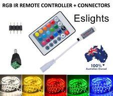 RGB LED STRIP LIGHT 24 KEY IR REMOTE CONTROL WIRELESS CONTROLLER RGB 3528 5050