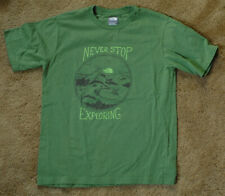 THE NORTH FACE Never Stop Exploring green short sleeve t shirt size boys L
