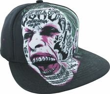 New Suicide Squad Joker Sublimated Face Mens Snapback Cap Hat