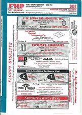 Plat Book Atlas Warren County Illinois IL Directory 2002 Monmouth Berwick PB