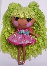 Lalaloopsy Loopy Hair Pix E. Flutters Full Size Yarn Hair Doll Green Hair 2013