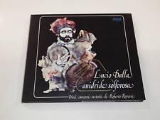 LUCIO DALLA ANITRIDE SOLFOROSA CD DIGIPAK 2012