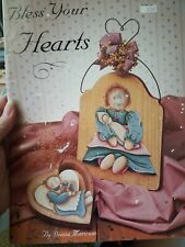 Decorative Tole Painting Pattern Book Bless Your Hearts