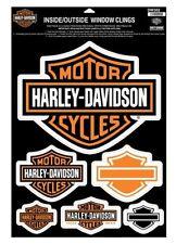 Harley Davidson Immagine finestra Set 6 pezzi Modello B&S