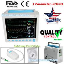 With Capnograph CO2 Patient Monitor Vital Signs 7 Parameters CE FDA CONTEC Fedex