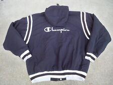 Vintage Champion Raiders Colorway Windbreaker Black Men's Jacket Coat Size XL