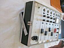 Sennheiser M-101, 4 channel preamp / mixer, for NAGRA discrete, analog, modular