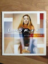 Lorie - Pres De Moi CD Single Card Sleeve 2 Tracks 2000 France