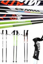 Paar Ski Alpin Skistöcke 115/120/125/130/135 cm Alu Schlaufe Atomic Elan Salomon
