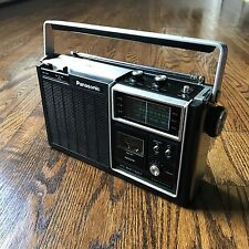 Vintage Panasonic RF-1060 Transistor Radio AC-Battery - AM/FM/PSB 3- Band