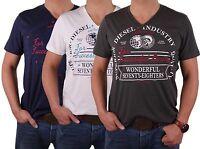 Diesel Men's T-Shirt Crew Neck V-Neck Various Colors Mosele