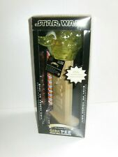 More details for giant pez star wars yoda clear head limited edition candy dispencer