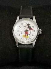 Vintage Bradley Mickey Mouse Watch Swiss Made  PLEASE READ   FREE USA SHIP
