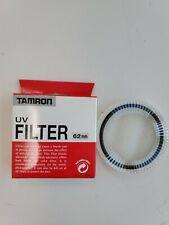 *NEW* Genuine Tamron UV Haze Filter 62mm