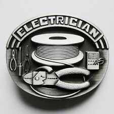 BRAND NEW ELECTRICIAN  TOOLS POWER LIGHT BELT BUCKLE