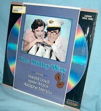 LD Laserdisc THE MILKY WAY Harold Lloyd Helen Mack Adolphe Menjou
