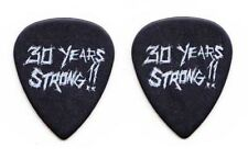 Metallica James Hetfield 30 Years Strong!! Black Ultex Guitar Pick - 2012 Tour