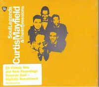 CURTIS MAYFIELD-Soul Legends-Remastered CD-BRAND NEW-Still Sealed