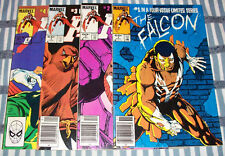 The FALCON complete Set #1-4 with Captain America app. form 1983 in nice con.