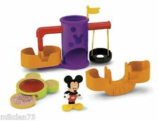 Fisher Price Mickey Mouse Clubhouse Playground Set Playset et figure