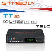 DECODER SATELLITARE TNT GTmedia TT Pro TV Box DVB-T/C HD Lecteur Multimédia