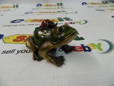 "Rucinni ""Swarovski"" Trinket Box -Frog- Rb760Awt"