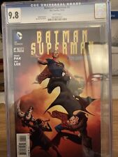 Batman/superman #4 2013 Cgc 9.8 Jae Lee Cover