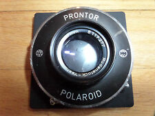 #4U/RODENSTOCK YSARON 127MM F4.7 POLAROID PRONTOR CABLE SHUTTER/511277/GERMANY!