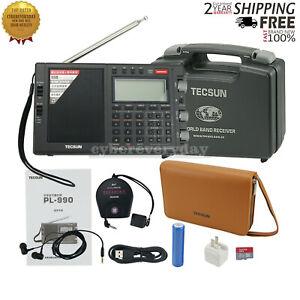 For Tecsun PL-990 Full Band Radio Receiver FM LW MV SW SSB DSP Music Speaker