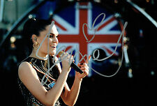 Jessie J SIGNED 12x8 Photo Singer Songwriter AFTAL Autograph COA The Voice Judge
