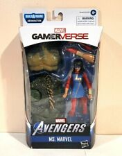 HASBRO MARVEL LEGENDS ABOMINATION B.A.F SERIES MS. MARVEL W/CHEST & BACK PIECES