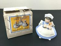 Vintage Chadwick Miller Nurse Figurine Bisque Porcelain RN Nurse Holding Baby