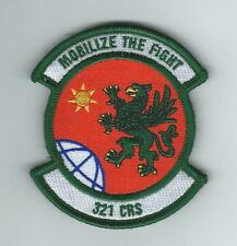 321st CONTINGENCY RESPONSE SQUADRON patch