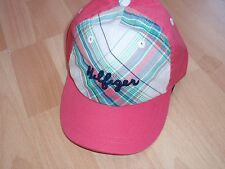 NWT GIRLS TOMMY HILFIGER SZ 6-12 MONTHS PLAID HAT