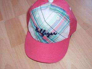 NWT GIRLS TOMMY HILFIGER SZ 6-12 MONTHS PLAID HAT