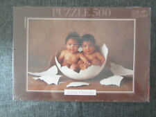 PUZZLE EDUCA 500 ANNE GEDDES DOUBLE YOLKER