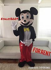 SALE RENT Mickey Mouse Mascot Costume Adult Disney Halloween character party