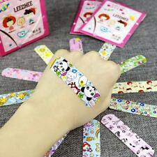 100X Cartoon Waterproof Bandage Band-Aid Hemostaticdhesive For Kids Chi F5X3