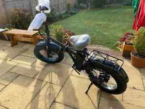 """Electric Bike 250W Fat Tire 20"""" Folding Bicycle Cruiser 36V 10Ah Electric Ebike"""