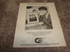 I LOVE LUCY: VERY FIRST SHOW Emmy ad by Lucie Arnaz, Lucille Ball, Desi Arnaz