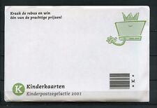 Nederland 2001 Blokje 2013 Kind in envelop met kinderkaarten